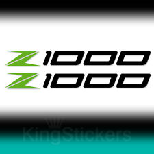 2 ADESIVI Kawasaki Z1000 sticker decal Z 1000 moto stickers