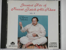 NUSRAT FATEH ALI KHAN -Greatest Hits Vol. 3- CD