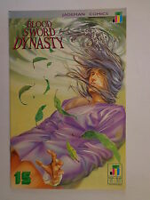 Blood Sword Dynasty MA Wing Shing T Wong Wan #15 Jademan Comics November 1990 NM