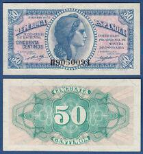 SPANIEN / SPAIN 50 Centimos 1937 UNC  P.93