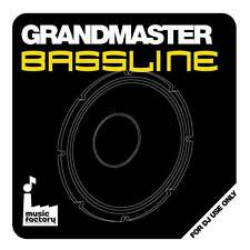Mastermix Music Factory Grandmaster Bassline DJ Megamixed Music CD