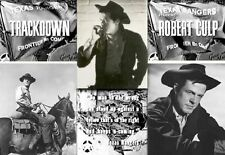 TRACKDOWN - ROBERT CULP - COMPLETE TV WESTERN SERIES ON DVD