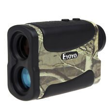 Laser Rangefinder 6x25 Long Range Speed Measurer 5~700 Yd For Hunting Golf