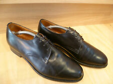 Church's cuir complet plain front derby uk 6.5 40.5 vtg laced blücher * wide fit