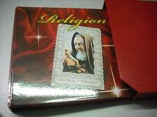 ABAFIL CARTELLA ALBUM RACCOGLITORE RELIGION 4 anelli c/ custodia x SANTINI VUOTO