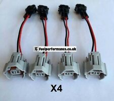 WIRED PLUG & PLAY INJECTOR ADAPTER - DENSO TOYOTA TO HONDA OBD2  * 4 PACK *