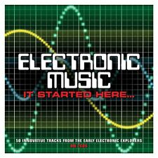 Electronic Music - 50 Innovative Tracks From Early Electronic Explorers 2CD NEW