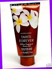 1 Victoria's Secret TAHITI FOREVER White Jasmine & Monoi Oil Body Scrub & Wash
