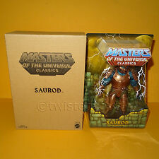 2015 MATTEL MOTU HE-MAN MASTERS OF THE UNIVERSE CLASSICS SAUROD MOC CARDED BOXED