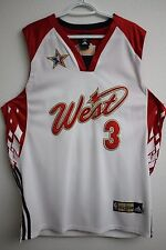 NBA Adidas 2007 All stars West Denver Nuggets Allen Iverson Authentic Jersey 50