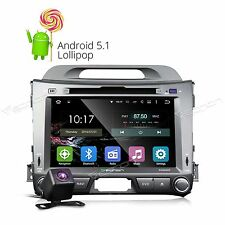 "CAM+ 8""Android 5.1 Car DVD GPS Player Radio Nav BT Touch For Kia Sportage WIFI G"