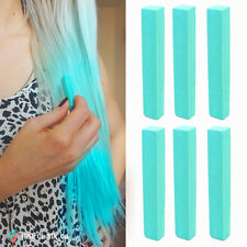 Best Mint Kylie Jenner Hair Dye Set of 6 Chalks | TEAL Color DIY Hair Chalk