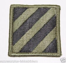 US Army 3rd Infantry Division Patch subdued sew on style used each P109