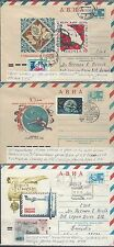 jThree Russian Letter sheets various Issues. Covers,  104