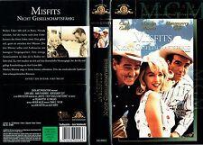 (VHS) Misfits - nicht gesellschaftsfähig - Clark Gable, Marilyn Monroe, M. Clift