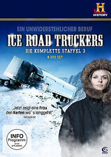 Ice Road Truckers komplette 3. Staffel Neu+in Folie 4xDvD