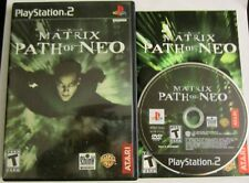 Matrix: Path of Neo PS2 (Sony PlayStation 2, 2005) Black Label - Complete!