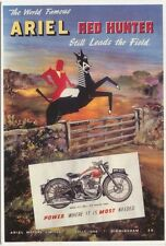 Ariel Red Hunter Modern colour postcard by Mayfair