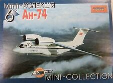 Toko 1/288 Antonov AN74 Aeroflot Jet Aircraft Model Kit 110