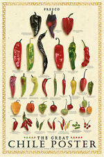 The Great Chile Poster Fresh Mark Miller Kitchen Fresco Pepper Food Poster Print