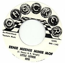 LITTLE LUTHER  EENIE MEENIE MINIE MOE / TWIRL  CHECKER  Re-Pro/Re-Issue  60s R&B
