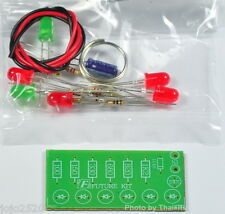 Audio VU meter 6 LED no need power supply [ Unassembled Electronic Kit ]