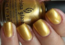 NEW! China Glaze Nail Polish Lacquer in CHAMPAGNE BUBBLES Let It Snow CollectiON