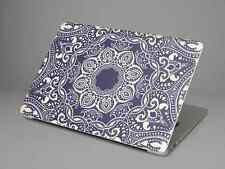 Notebook Sticker Case Tasche Apple MacBook Air 13 Skin Blue Mandala