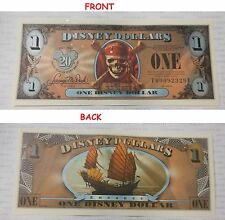 2007 Disney Dollar $1 FE Series AT WORLD'S END EMPRESS Pirates Of The Caribbean