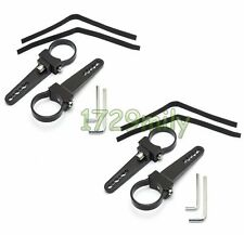 "4pcs 1.75"" Mounting Bracket Tube Clamps Light Bar for15 16 Polaris RZR XP Ranger"