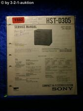 Sony Service Manual HST D305 Component System  (#1592)