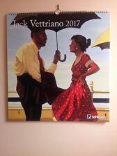 JACK Vettriano 2017 calendario, di grandi dimensioni.