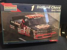 Monogram Kit #2474 1:24 NASCAR # 1 DIEHARD CHEVY RACE TRUCK New Kit - Sealed Box