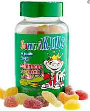 NEW GUMMY KING ECHINACEA PLUS VITAMIN C & ZINC FOR KIDS ANTIBIOTICS NATURAL CARE