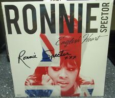 """Ronnie Spector signed English Heart 12"""" LP"""