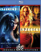 Species III/Species: The Awakening (Blu-ray Disc, 2016, 2-Disc Set)