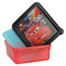Cars 13 oz. ChillPak Snack Container