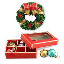 Reutter Porzellan Weihnachtsschmuck / Christmas Decorations Puppenstube 1:12