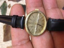VINTAGE  OMEGA MANUAL LADIES   WATCH  GOLD PLATED 20M  FOR PARTS   SWISS MADE