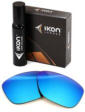 Polarized IKON Iridium Replacement Lenses For Oakley Garage Rock Ice Blue
