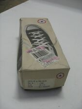 Vintage NIB 1990s Converse Chuck Taylor All Star USA MADE Monochrome Size 10.5