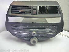 08-12 Honda Accord Premium Radio 6 Cd Player & Code 39100-TE0-L521 3PB6 CP64516