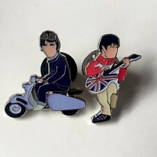 Oasis Live At Maine Rd Pin Badge A Guy Called Minty & Casual Connoisseur.