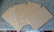 4 sheets of 4mm MDF Size = A4 210mm x 297mm - Models Crafts Painting
