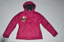 THE NORTH FACE GIRLS G HARMONEE PEACOAT JACKET PLUM L LARGE 14/16  AUTHENTIC