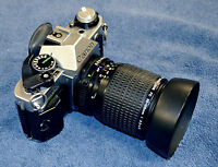Canon AE-1 with Canon Zoom Lens FD 35-105mm 1:3.5-4.5