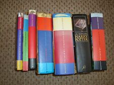 Harry Potter Book Collection Full Set 1-7 Including 3 x 1st Editions HB & PB