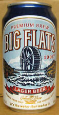 BIG FLATS BEER aluminum CAN with WATERWHEEL, (Genesee), Rochester, NEW YORK  1+