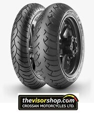 SET 120/70/zr17 & 160/60/zr18 Metzeler ROADTEC Z6 Tyres - PAIR - CHEAP !!!