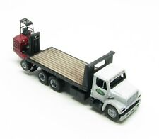 "N Scale ""I"" Class Freight Delivery 16 Ft. Deck Truck w/Donkey Forklift Kit(82)"